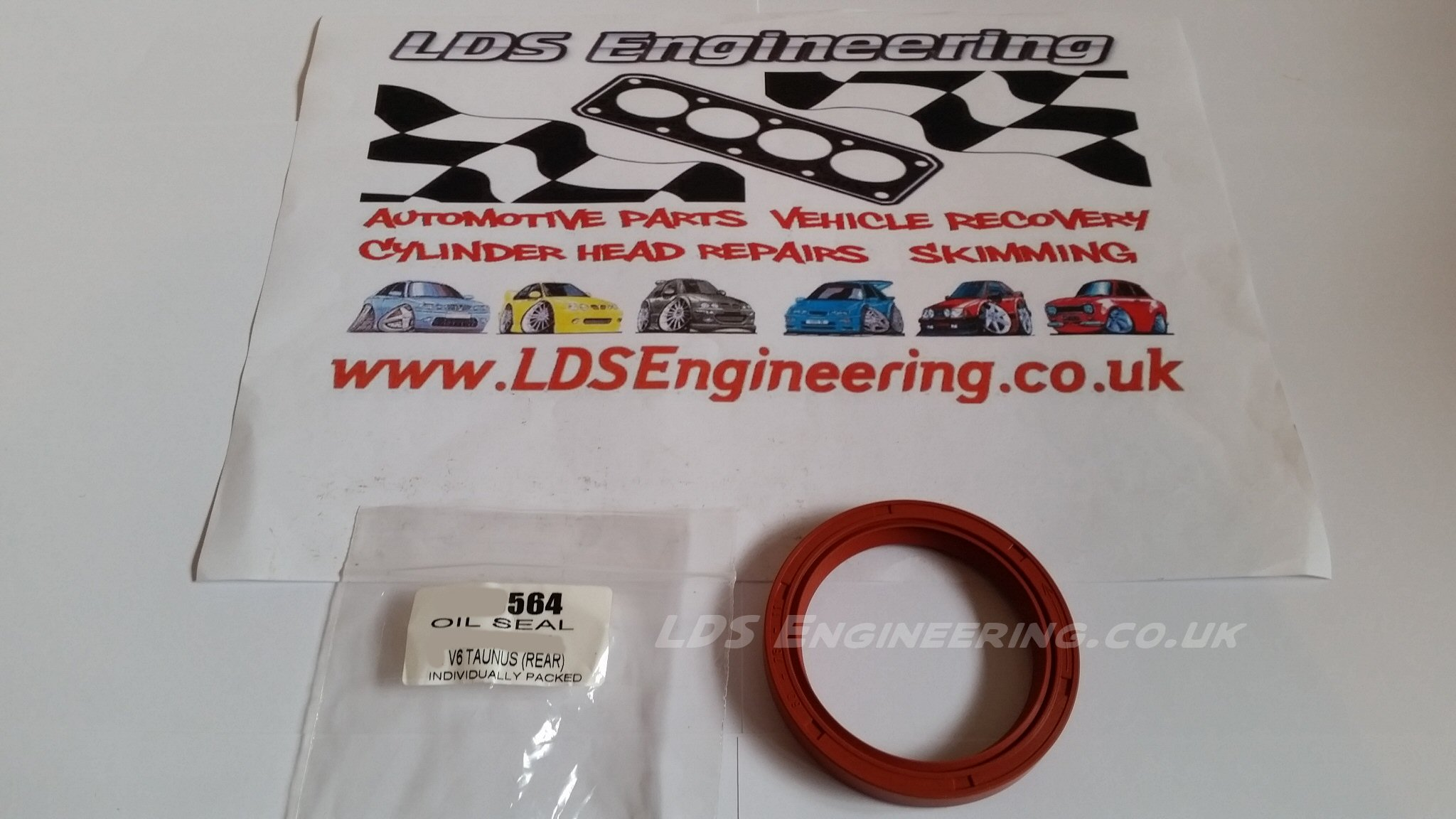 2.8 v6 cologne Rear crankshaft oil seal